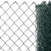 TREPLAST STRETCH - galv. compact chain-link mesh with plastic coat